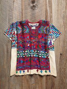 Free People Vintage Guatemalan Huipil, $428.00