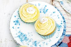 Fragrant, buttery and sweet, this cupcake ticks every box.
