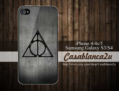 Deathly Hallows For iPhone 4 Case, iPhone 4s Case, iPhone 5 Case & Samsung Galaxy S3 / S4 Case, Harry potter