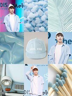 Vernon Moodboard #Blue #Pastel #Vernon #Seventeen #SVT