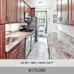OPEN HOUSE!! Sunday July 1st from 12 to 2 p.m. Please call Daisy for an appointment at 718-473-0808 . . Here is your chance to purchase one of the last affordable luxury 1-bedroom apartments in Spuyten Duyvil! This apartment is in a move-in ready condition with a beautifully renovated windowed kitchen that features custom hardwood cabinetry granite counter tops and full-size stainless steel appliances. Large living room with a wall of windows facing west and high ceilings. Updated bathroom. There are lots of closets and original hardwood floors that are in excellent shape. Best of all the incredibly low monthly maintenance is just $508!!! This apartment will sell quick don't delay! . . . 3103 Fairfield Ave is a boutique mid-century cooperative located in Spuyten Duyvil. Amenities include a doorman live-in super parking (wait listed available nearby) fitness room storage units bicycle room laundry indoor kids playroom and outdoor playground. Sorry no dogs. The location is ideal for commuters  a short walk to the Spuyten Duyvil Metro North station for a 25-minute ride to Grand Central! Local buses Bx10 and Bx20 stop nearby and can take you to #1 train in just a few minutes. Manhattan's express buses BxM1 (east side) BxM2 (west side) and BxM18 (Wall St) also stop close by. There is a shopping area a few blocks away with a 24-hr pharmacy supermarket deli wine shop cleaners Chase bank and a few restaurants. This is an amazing value! Mid Century Bathroom Vanity, 1 Bedroom Apartment, High Ceilings, Window Wall, Workout Rooms, Mid Century Style, Granite Countertops, A Boutique, Open House
