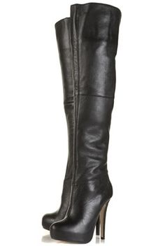 I love these topshop boots, I keep looking at them on ebay. I sooooo want the confidence to wear them