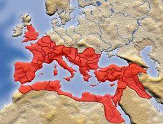 The Roman Empire in AD 116