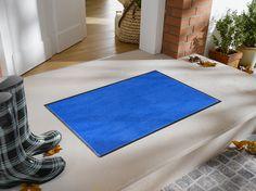Blue Floor Mat | Floor Mats | Studio 67 Floor Mats | Non-Skid Floor Mats | Solid Color Floor Mats | Blue Floor Mats for the Home