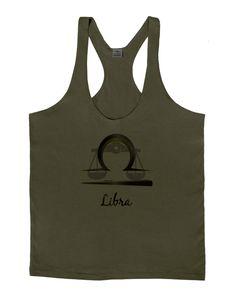 TooLoud Libra Symbol Mens String Tank Top