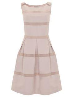 Mint Velvet Stone stripe dress Multi-Coloured - House of Fraser 50s Dresses, Vintage Dresses, Nice Dresses, Vintage Outfits, Dresses For Work, Amazing Dresses, Vintage Clothing, Beautiful Dresses, Pinterest Fashion