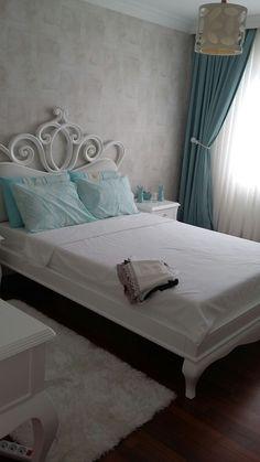 Bedroom Bed Design, Girls Bedroom, Bedroom Decor, Vanity Room, Bed Furniture, Decoration, Farmhouse Style, Home Decor, Sweet Home