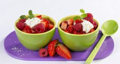Tartare de fruits rougesVoir la recette du Tartare de fruits rouges >>