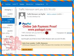 Digital Marketing Online job -Traffic Production site TM revenue sharing payment proof  #DigitalMarketing