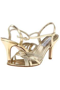 1e195d87eeb980 Taryn Gold Strappy Sandal