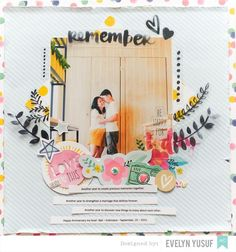 Remember Us American Crafts Better Together Amy Tangerine   Full Layouts  by Evelynpy
