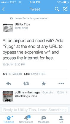Bypassing wifi
