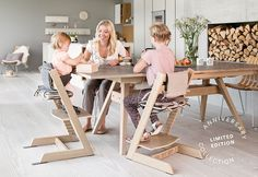 Stokke® proudly announces a milestone event for our iconic Tripp Trapp® chair–the production of our ten millionth Tripp Trapp®. To celebrate, we are launching a Limited Edition Anniversary Collection in matte Oak wood, with sophisticated hardwar…