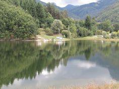 Lago di Gramolazzo                                                                                                                                               ( Garfagnana )