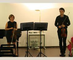 Triskelion Enigma: Valeria Squillante e Simone De Pasquale, violini