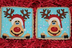 Silly Rudolph Cookie Favors