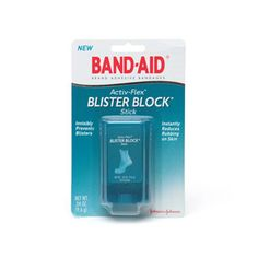 Bandaid blister blocks. For those super cute shoes that really HURT! Bought some going to try it with my super cute shoes!