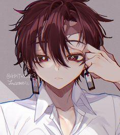 "Реакции ""Demon Slayer: Kimetsu no Yaiba"" Otaku Anime, Anime Art, Anime Angel, Demon Slayer, Slayer Anime, Cute Anime Guys, Anime Love, Beelzebub Anime, Anime Boy Hair"