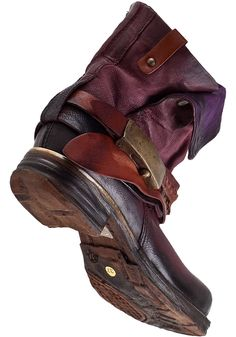 A.S. 98 717207 Ankle Boot Wine Leather - Jildor Shoes, Since 1949
