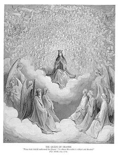 The Queen of Heaven by Gustave Doré