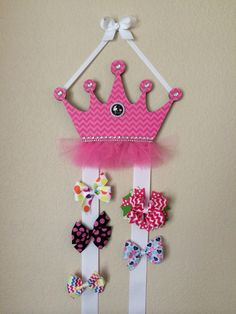 Hair bow holder