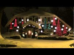 One of my dad's many rockin' holiday displays set to music! Can't wait to see what he cooks up this year!