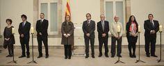 """President Mas: """"Les nostres armes contra la barbàrie són el diàleg, la negociació i l'acord"""" - govern.cat, 26-01-15. El cap de l'Executiu ha encapçalat al Parlament de Catalunya l'acte commemoratiu del dia internacional de les víctimes de l'Holocaust."""