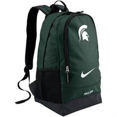 Nike Michigan State Spartans Large Training Backpack - Green
