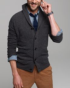 J. Crew always has classic inspiration. Try corduroys instead of denim, and dress this down with some Chuck Taylors.