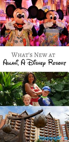 Aulani, Disney's Hawaiian vacation resort recently introduced new experiences. Check out what's new at Aulani including the introduction of Moana.