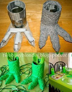 Paper Mache Crafts for a Dino Party-cute! great to get the kids involved with their party! Park Birthday, Dinosaur Birthday Party, 4th Birthday Parties, Boy Birthday, Birthday Ideas, Elmo Party, Mickey Party, Festa Jurassic Park, Paper Mache