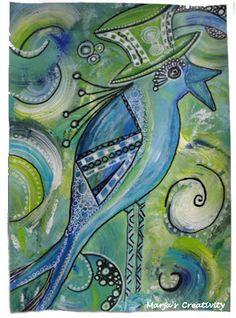 Een geweldig  schilderij gemaakt door Marja de Visser