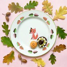 Viste tu mesa con los colores de otoño!  @omm_design #enamelplate #enameltableware #kmfamilyshop #shoponline #barcelona