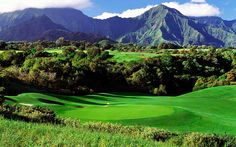 Hole #16 - Prince Course at Princeville Golf Club Visit: www.princeville.com