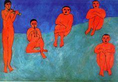 """Matisse se hizo bien """"amigo"""" de el color, se centro en desarrollarlo hasta el abuso, supongo, por ejemplo, que la física de la combinación de colores seria un buen factor."""