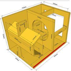 Projeto 4a Ordem Bandpass Horn 15 Inch Subwoofer Box, Subwoofer Box Design, Speaker Box Design, Monitor Speakers, Diy Speakers, Sub Box Design, Speaker Plans, Audio, Horns