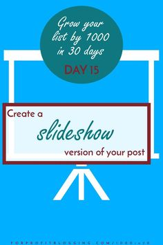 One way to get more eyes on your posts (and therefore more subscribers) is to create a slideshow version of your post and upload it to Slideshare.