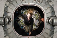 Inspecting the Space Station's Expandable Habitat NASA astronaut Kate Rubins inspected the Bigelow Aerospace Expandable Activity Module (BEAM) attached to the International Space Station. Expandable habitats are designed to take up less room on a spacecraft while providing greater volume for living and working in space once expanded. October 12 2016