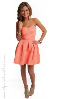 Structured Strapless Mini, $49.00