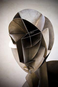 Sculpture by Naum Gabo, Constructivism Sculpture Metal, Abstract Sculpture, Wire Sculptures, Sculpture Garden, Modern Art, Contemporary Art, Cubism Art, Art Design, Art Plastique