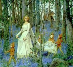 "Henry Meynell Rheam (1859 – 1920), ""The Fairy Wood"""
