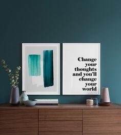 Color strokes NO1 Plakat
