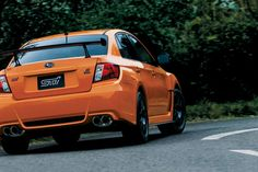While it's name may be confusing, the power behind this latest from Subaru is in your face. Releasing as a Japan-only model, the Subaru WRX STI tS Type RA is Subaru Impreza Sti, Wrx Sti, 2013 Wrx, Truck Rims, R Vinyl, Girls Driving, Japanese Cars, Rally Car, Jdm Cars