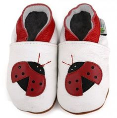 Ladybug Booties for newborns