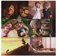 Ellie and Carl: best love story