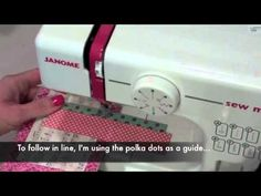 sewing on cards video...
