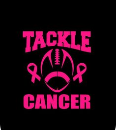 Custom Tackle Cancer Or Tackle For A Cure Football Breast Cancer Awareness Pink Ribbon Iron On Vinyl Or Glitter Vinyl Heat T-shirt Transfer Breast Cancer Shirts, Cancer Awareness Shirts, Breast Cancer Awareness, Awareness Tattoo, Autism Awareness, Football Cheer, Football Shirts, Football Moms, Free Football