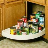 Rev-A-Shelf 6881 Series - Blind Corner Lazy Susans by Rev-A-Shelf. $123.16. Single Shelf Polymer Half Moon Lazy Susans. Save 63%!