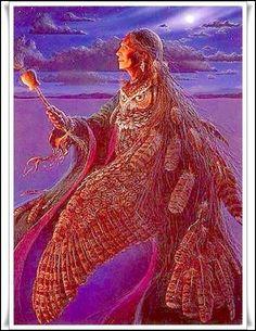 Las Revelaciones del Tarot: Iyami Osoronga (La Dama de las Aves de la Noche) -...