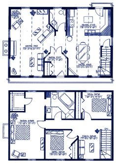 gambrel house plans | gambrel type economical-house-plans | houses